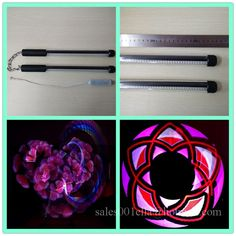 2016 Fashion 2 Pcs  50 Pixels Poi Full-Color Lamp LED Stick Programmable Nunchuck Usb Graphic Poi Performances Show Wand