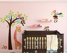 Etiquetas de la pared de cuarto de niños bebé etiqueta por evgieNev