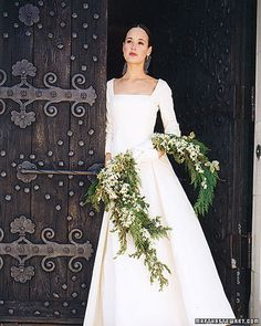 Not for summer, But i love this for a winter wedding. I had fir in my bouquet with roses...