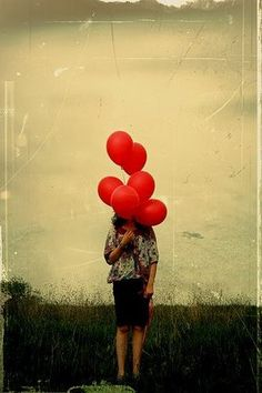 Red Balloons - Fun Red Things - Because we love red... at Online Marketing Success Group - http://pinterest.com/OnlineMSuccess/