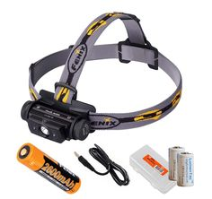 Fenix HL60R 950 Lumens Rechargeable LED Headlamp with Rechargeable 18650 Battery, USB Charging cable and LumenTac Organizer and Backup CR123As ^^ You can find more details here : Camping stuff