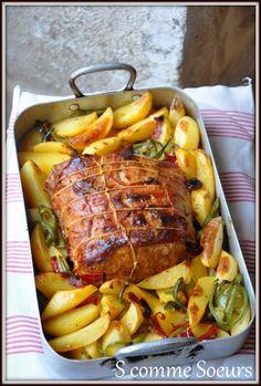 Rôti de porc à la hongroise