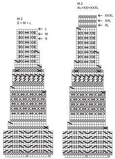 """DROPS 113-16 - Top DROPS, de punto, con la pechera en patrón para realzar textura en """"Silke Alpaca"""". Talla: S – XXXL. - Free pattern by DROPS Design"""