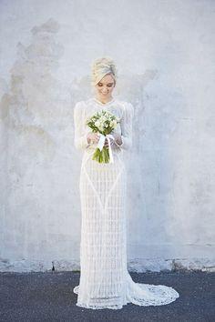 Long Sleeved Wedding Dresses Melbourne