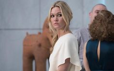 How to get Julia Stiles' looks from Riviera Jumpsuit Images, Tv Actors, Actors & Actresses, Tailored Jumpsuit, One Shoulder Jumpsuit, Julia Stiles, First Lady Melania Trump, Strappy Sandals Heels