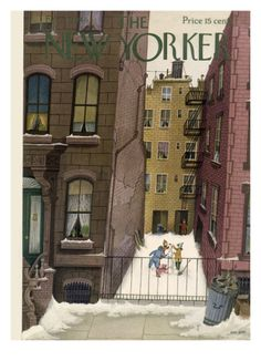 The New Yorker Cover - February 2, 1946 Giclee Print by Edna Eicke at Art.com