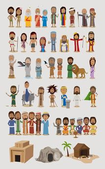 See 6 Best Images of Printable Bible Figures. Craft Stick Puppets Bible Characters Bible Character Timeline Free Printable Bible Figures LDS Prophets Old Testament Bible Free Bible Printables Sunday School Lessons, Sunday School Crafts, Bible Timeline, Bible Activities, Religious Education, Bible For Kids, Scripture Study, Bible Crafts, Kids Church