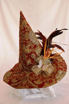 Witch Hat Baba Jaga Golden Age by Lauralyn7 on Etsy, $56.00