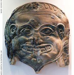 Глава Медузы Горгоны из Спарты