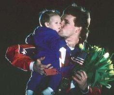 Lors des Jeux olympiques de Calgary, en 1988, Dan Jansen est le favori pour remp... - Photo Bill Frakes /Sports Illustrated/Getty Images