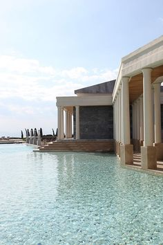 Amanzoe Hotel in Greece | places to #getlucky | curated by your friends at luckybloke.com