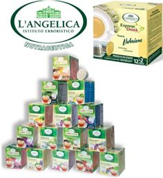 Herbal Teas from Instituto Erboristico L´Angelica from now on not only in Lavazza Point but also in Nespresso compatible capsules at Your favorite coffee&tea store Gustoespresso Hungary:)