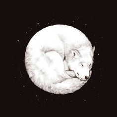• art Black and White wolf Cool perfect hipster indie moon Grunge galaxy stars Beautifull Luna teenager90s •