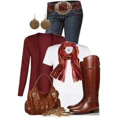 Fall+Outfits+with+Boots | Fall Outfits | Tory Burch Riding Boots | Fashionista Trends