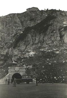 "Führer Headquarters - The Kehlsteinhaus (""Eagle's Nest""). Photographed in 1945, Berchtesgaden, Germany."