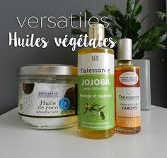 focus huiles vegetales