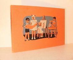 Childcraft 1947 Vol 13 Art Music Quarrie Corp Orange   eBay... Also Vol 14