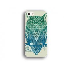 owl iphone 4s case,arting Iphone 5c case,blue owl  Iphone 5s case,pictorial Iphone 4/4s case,cool style Iphone case,iphone gift