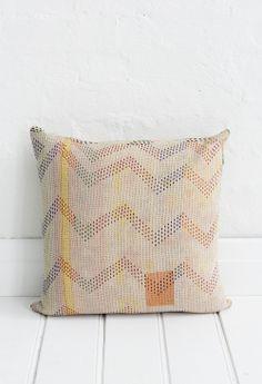 Shop | Fabrics | Cushions | Kantha Cushions | Kantha Cushion Lemon Fizz Rattan Furniture, Outdoor Furniture, Cute Cushions, Quilted Pillow, Cushion Fabric, Pillow Talk, Family Love, Soft Furnishings, Lemon