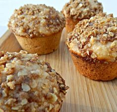muffins light de avena y naranja