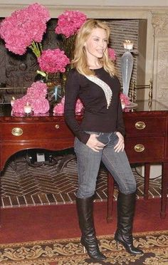 Equestrian Boots, Kylie Minogue, Jeans And Boots, Punk, People, Photography, Outfits, Shopping, Fashion