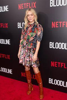 WHO: Chloë Sevigny WHAT: Louis Vuitton WHERE: Bloodline series premiere WHEN: March 3, 2015