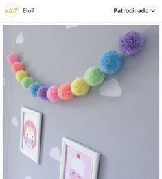 Inspiration: pompons in decoration – Crafts