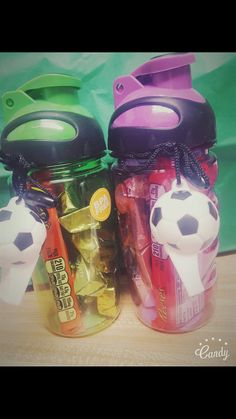 Goodie bags idea for sports theme #for #boys #sports #goodie #bags