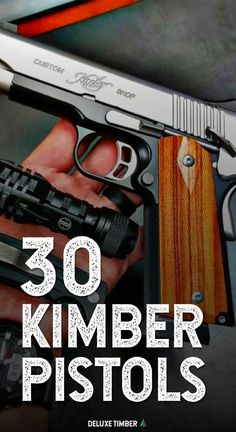 Looking for inspiration on your next daily carry pistol or wanting to add a new gun to the collection? Check out these awesome kimber pistol ideas! Kimber 1911, Weapons Guns, Guns And Ammo, Tactical Knives, Tactical Gear, Snake Proof Boots, Kimber America, Kimber Micro, Firearms