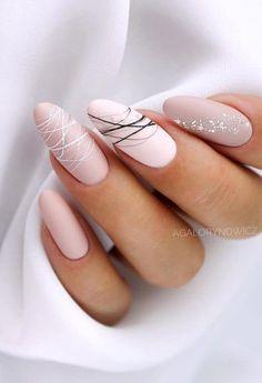 Colorful Nail Designs, Nail Designs Spring, Nail Art Designs, Colorful Nails, Nails Design, Stylish Nails, Trendy Nails, Cute Nails, Oval Nails