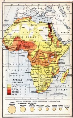 Africa Population (1913)