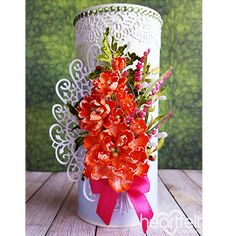 Gallery | Elegant Floral Medallion - Heartfelt Creations