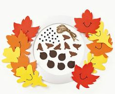 11 All craft kit pieces are pre-packaged for individual use. Kits include instructions and extra pieces. Fall Crafts For Kids, Toddler Crafts, Diy For Kids, Winter Craft, Kid Crafts, Toddler Activities, Wreath Crafts, Decor Crafts, Fall Tree Painting