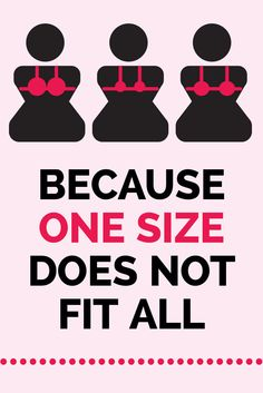 Does your bra feel uncomfortable? Then you're wearing the wrong size!