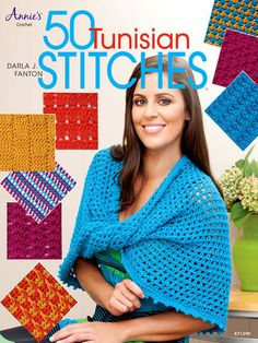 50 Tunisian Stitches - Crochet Pattern