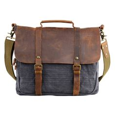 60407 Canvas Laptop Bag Canvas Laptop Bag 1fa0aa394796c