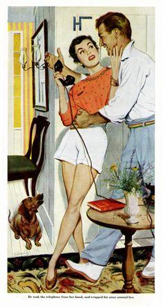 Less Talk...More Kissing! ~ Bernard D'Andrea, 1948.