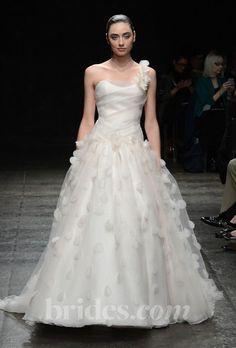 jim hjelm polka dot wedding dress fall 2013
