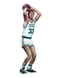 Larry Bird: Leader of the Boston Celtics Basketball Is Life, Basketball Shirts, Basketball Pictures, Basketball Legends, Basketball Players, Basketball History, Nba Pictures, Larry Bird, Beautiful Women Over 50
