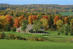 In close proximety to Burlington, Oakville, Milton, Hamilton and Mississauga,  nestled into the Niagara Escarpment, with panoramic views of the G.T.A. in abundance, Lowville Golf Club blends natural beauty with a challenging 18 hole layout. The golf course has topped the list of the Toronto Star 'Bogey Man', receiving most scenic and most improved club honours. Corporate tournaments, meetings, multi-round transferable passes or just an enjoyable, affordable round of golf can all be arranged.