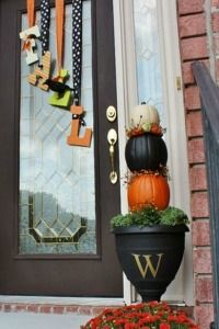 #Fall #Autum #Halloween decorating ideas.