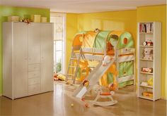 Inspired kids' rooms that combine function, fantasy and play.