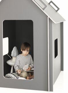 #speelhuis #jongenskamer | Playhouse. Design by Minna Jones  Picture: Nico Backström