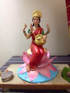 Saraswati Goddess, Durga Maa, Ganpati Bappa Wallpapers, Mata Rani, Clay Wall Art, Lakshmi Images, Lord Murugan, Buddha Meditation, Hindu Art