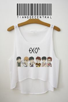 EXO M Crop Top | Tiangge Central