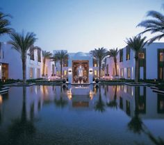 The Chedi - Oman ~ Even more beautiful than it looks in pictures.