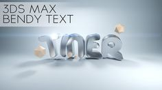 Bendy Bling Text in 3DS Max 2014