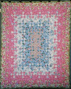 Blooming nine patch by Jackee Quilts