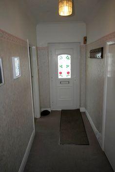 The front door before starting