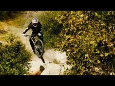 Aaron Gwin Blazes a Downhill MTB Trail in California.